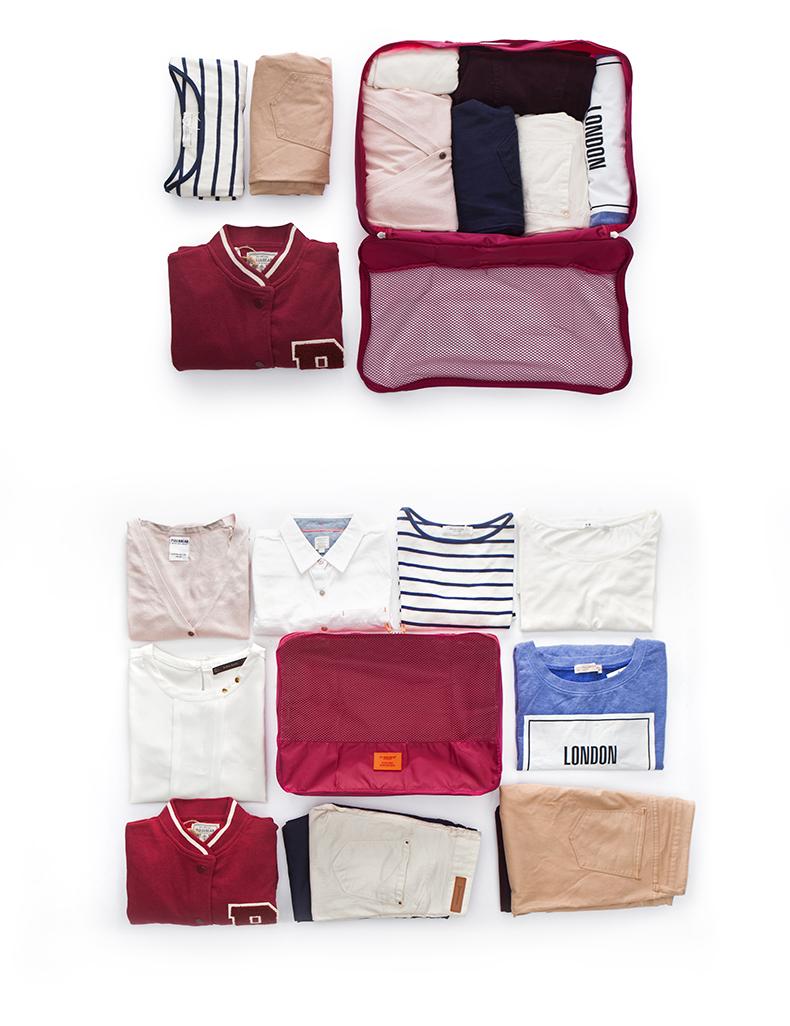 túi du lịch đựng quần áo Msquare