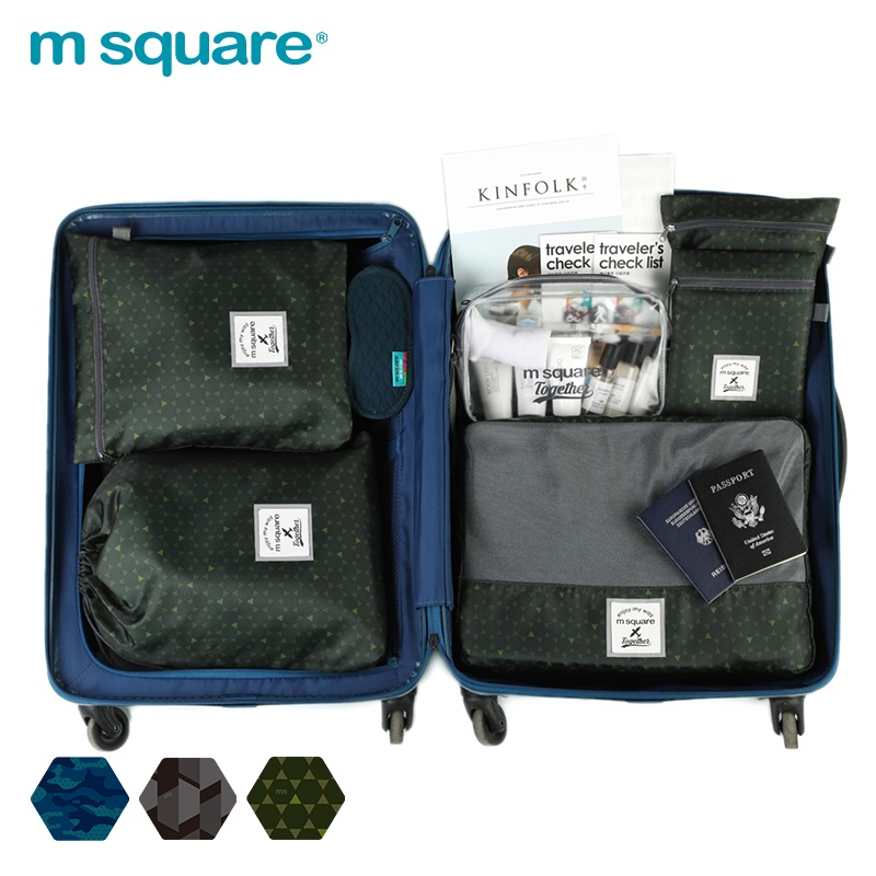 thiết kế set túi du lịch đa năng này rất tiện dụng