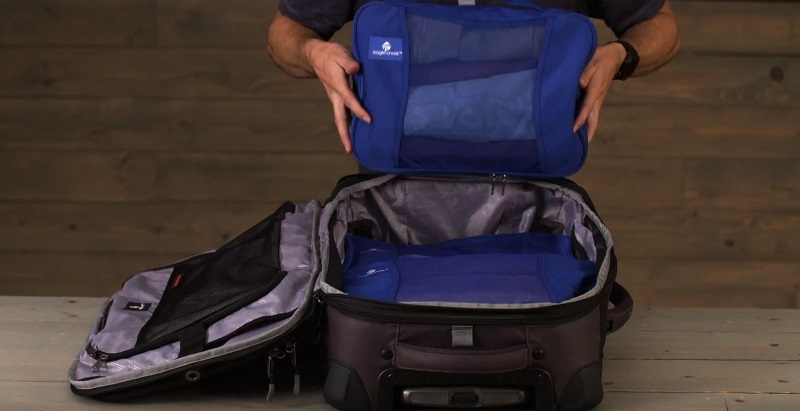 Khả năng đựng đồ set túi du lịch đựng quần áo