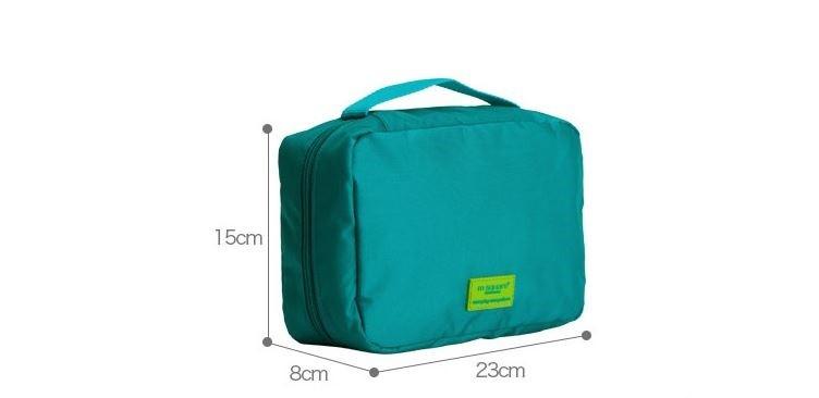 Kích thước của túi đựng mỹ phẩm