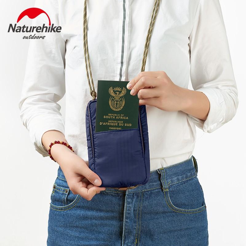 túi đựng passport có dây đeo