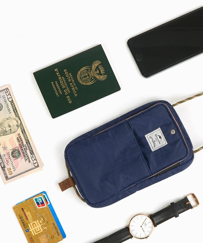 túi đeo passport