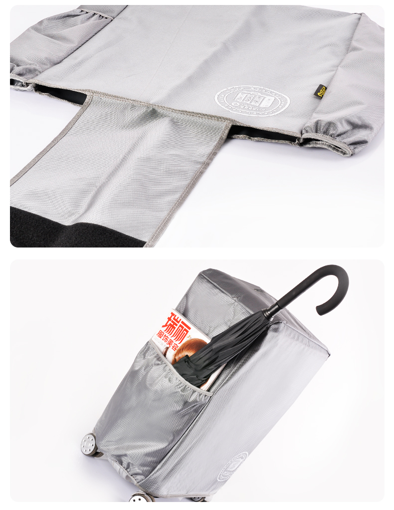 Thiết kế của túi bọc vali chống nước