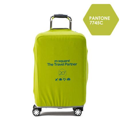 Túi bảo vệ vali Msquare màu xanh cốm