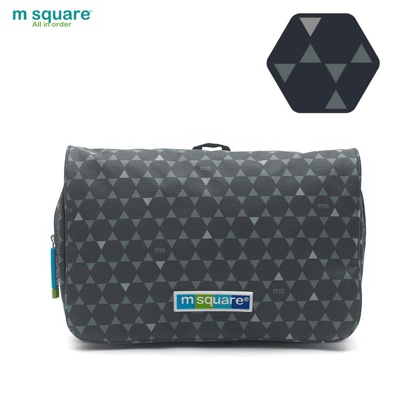 Túi mỹ phẩm du lịch Msquare Business II màu đen