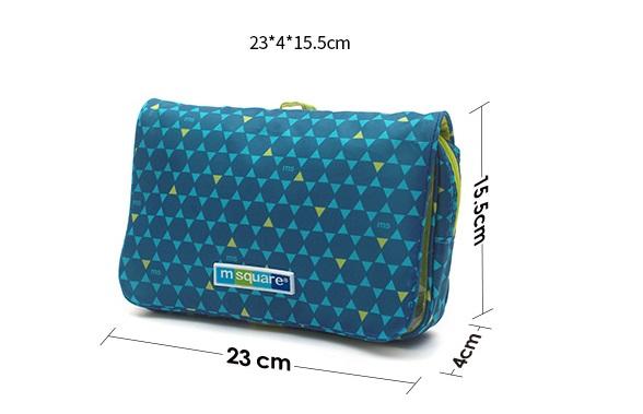 Kích thước của túi mỹ phẩm du lịch