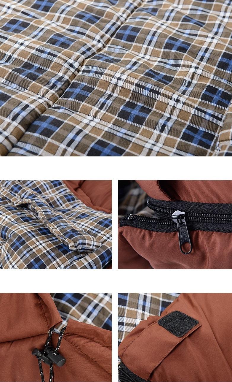 Chất liệu của túi ngủ Naturehike