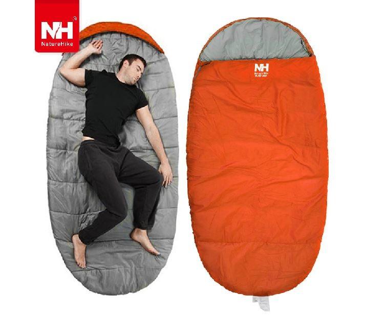 Túi ngủ du lịch màu cam