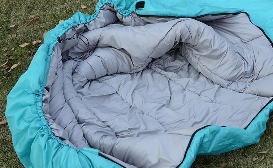 Chất liệu của túi ngủ đi phượt Naturehike