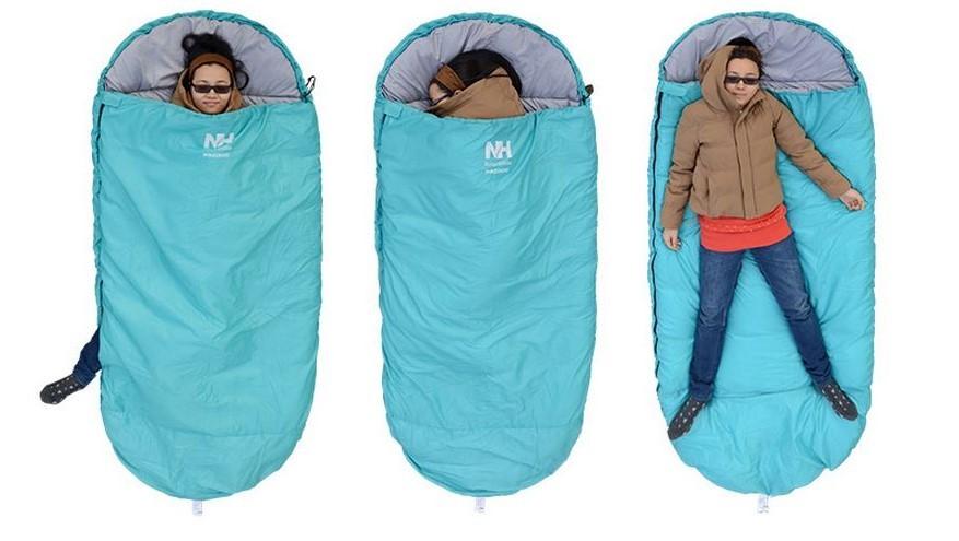 Thiết kế của túi ngủ cá nhân Naturehike