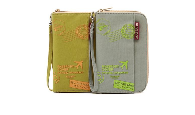 Túi đựng passport vé máy bay