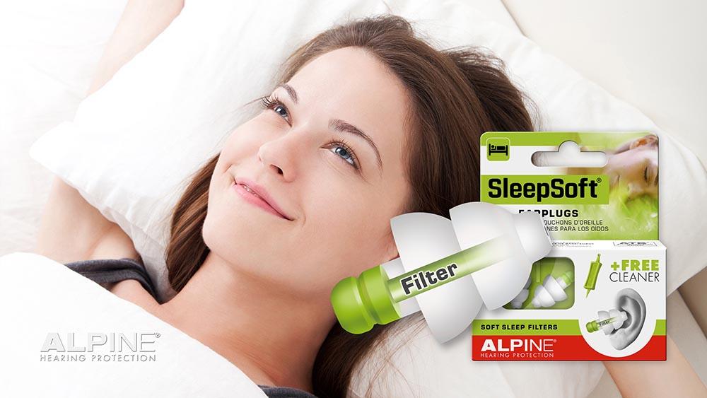 sử dụng nút bịt tai chống ồn khi ngủ đúng cách sẽ giúp tinh thần thoải mái