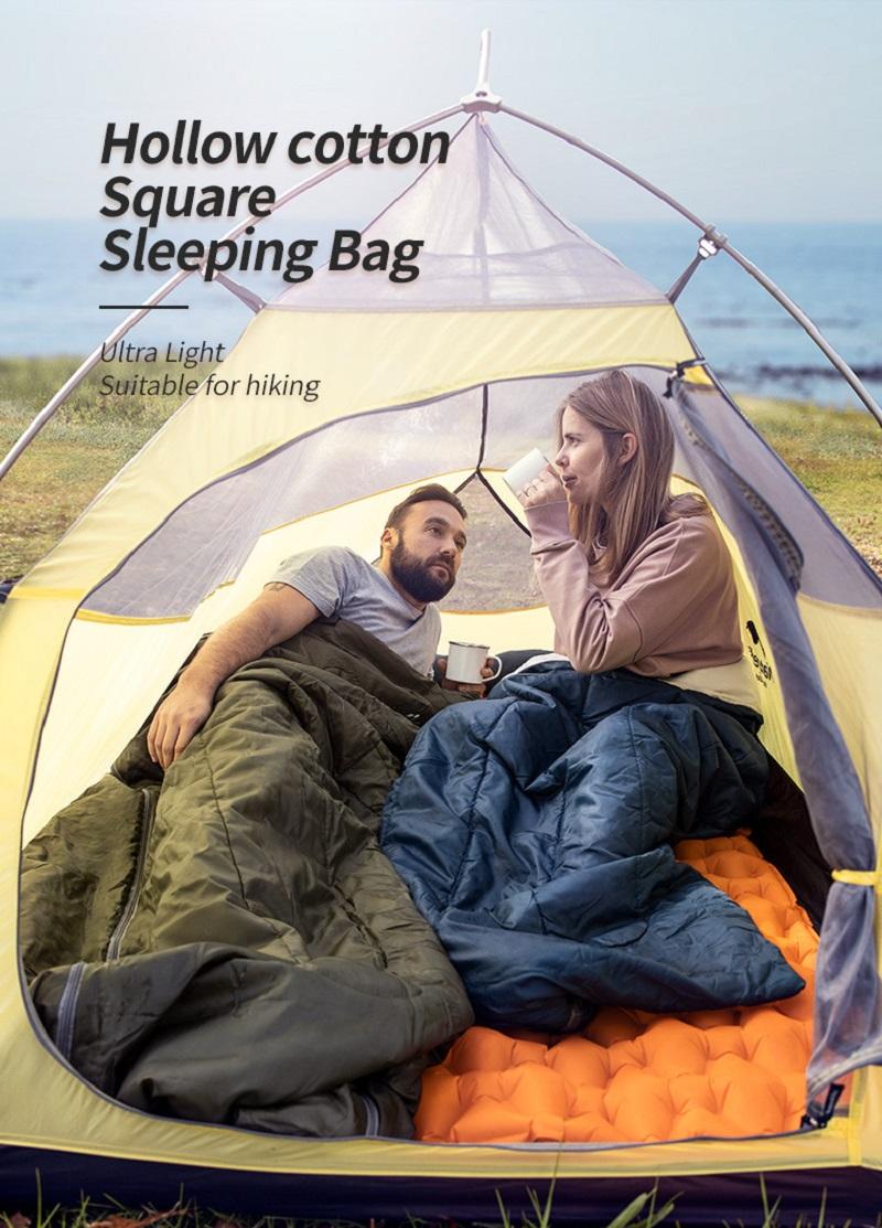 túi ngủ dùng tốt đi cắm trại