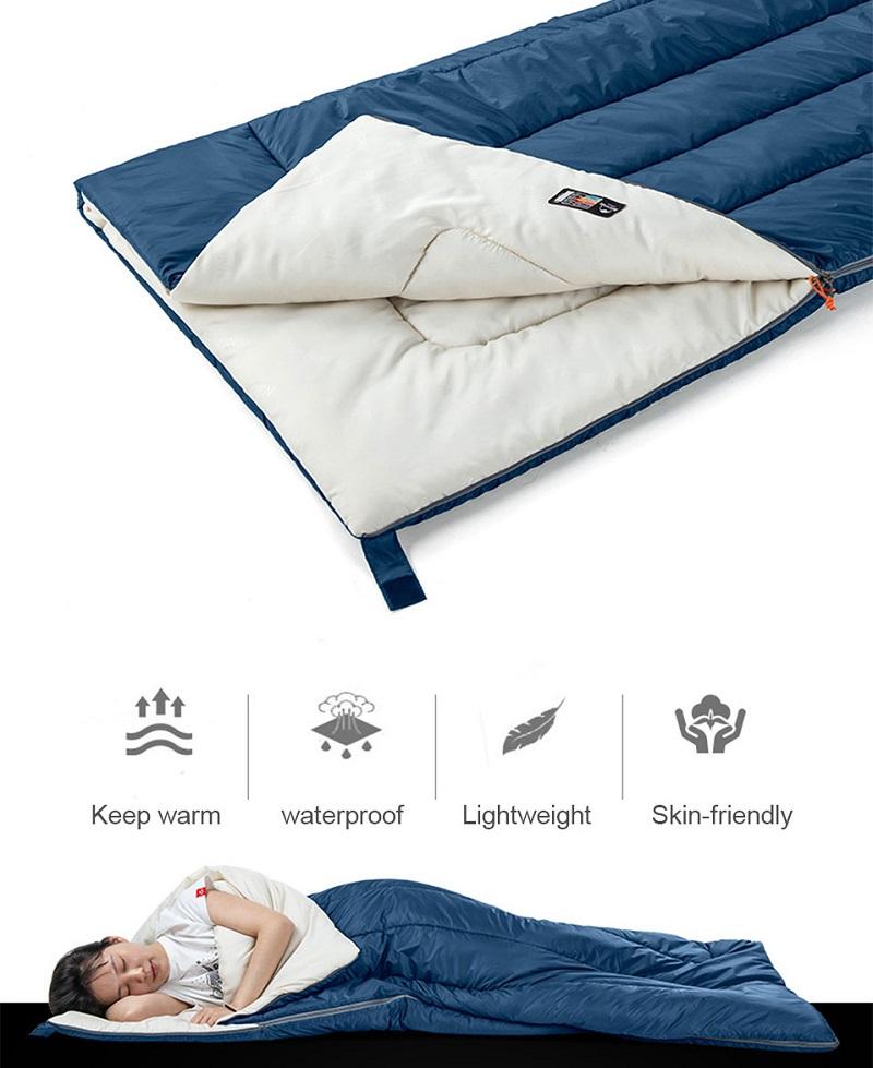 Tính năng chống nước và độ ấm của túi ngủ H150