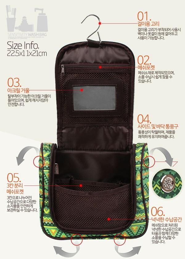 túi đựng mỹ phẩm đi du lịch